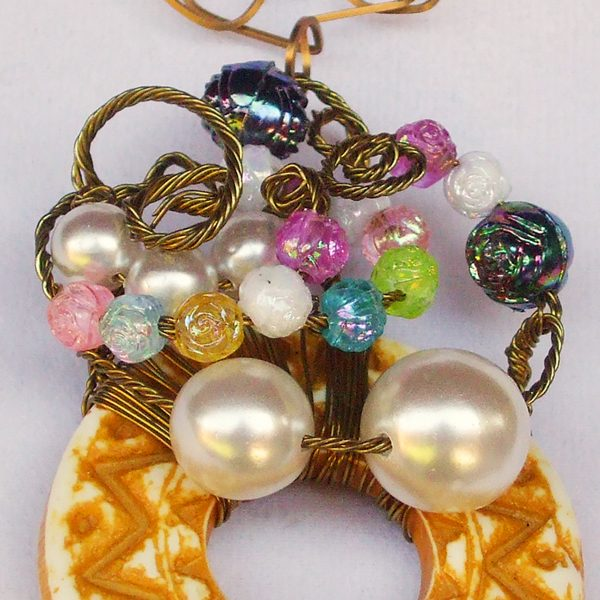 Bead Donut Wreath Relevant view