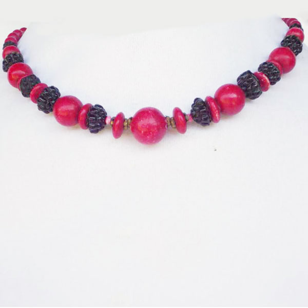 Taima Beaded Necklace relevant view