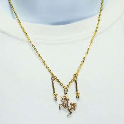 Calala Charm Pendant Necklace relevant front view