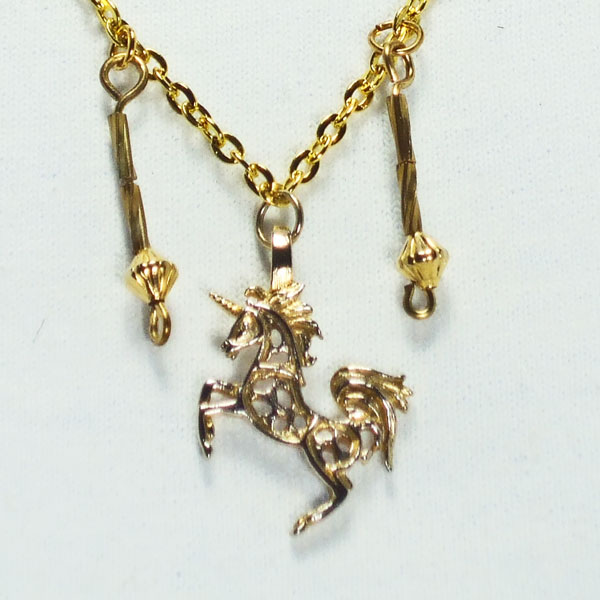 Calala Charm Pendant Necklace blow up view