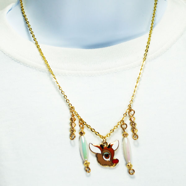 Edilberta Rudolph Charm Jewelry Pendant Necklace relevant front view