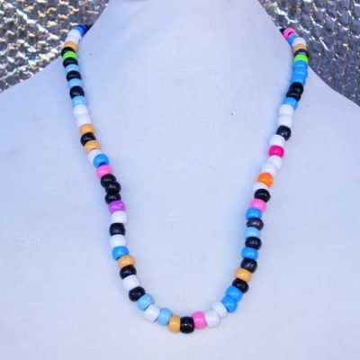 Lee Lee Beauty No 2 - long pony bead necklace