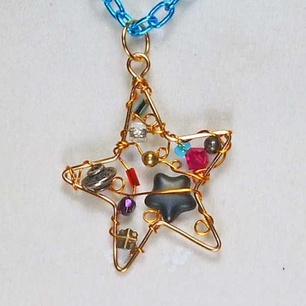 Evening-Star-Necklace back view