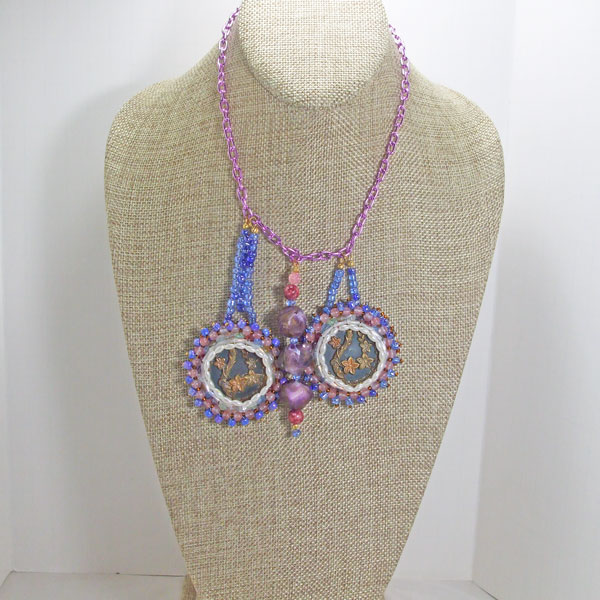 Vail New Spring Flowers Necklace front relevant view