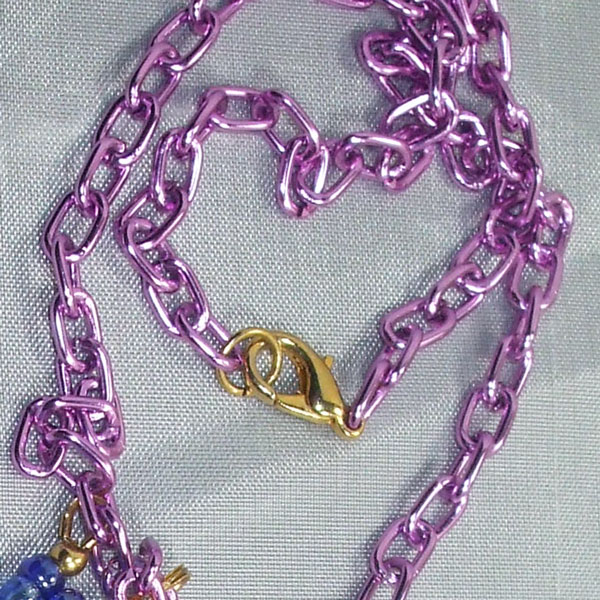 Vail New Spring Flowers Necklace clasp view