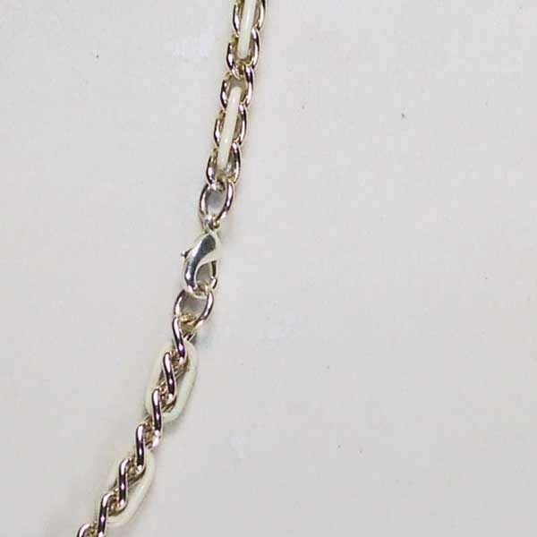 Three Heavenly Planets Necklace clasp view